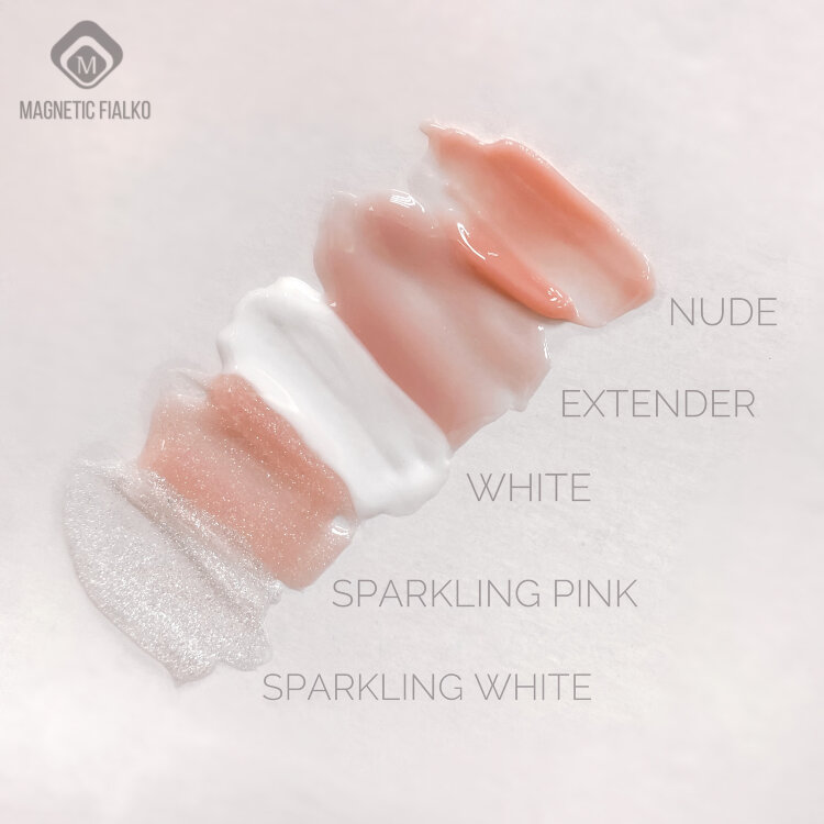 Полигель розовый блестящий (Sparkling Pink ) 30gr - купить